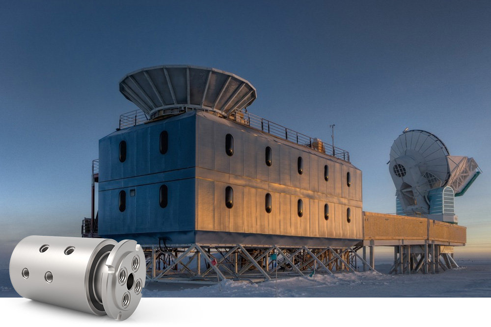 DSTI Plays Role in Astrophysics Research from South Pole